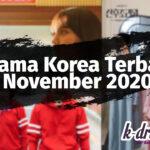 drama korea terbaru november 2020