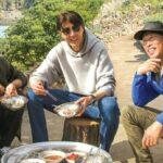 three meals fishing village