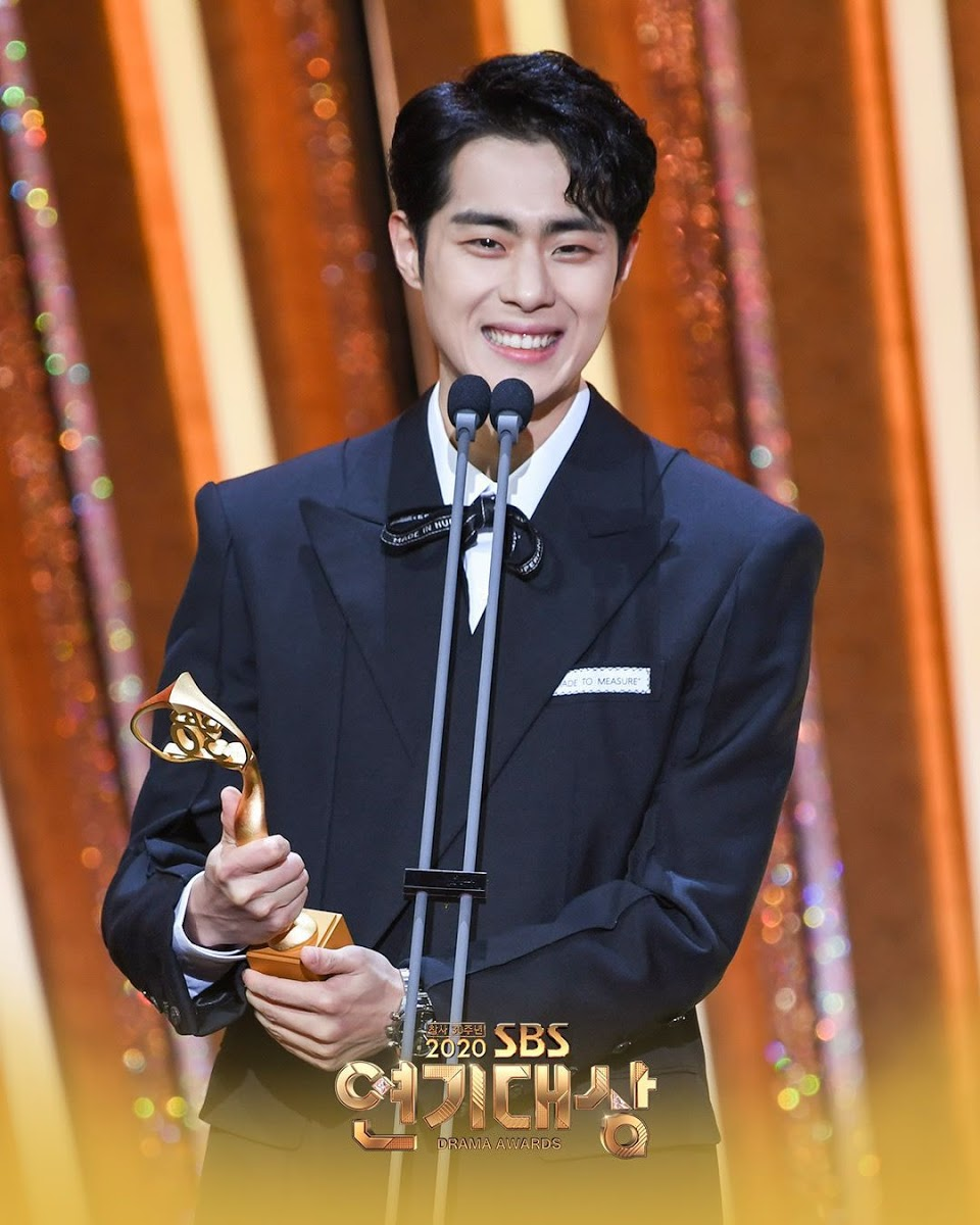 sbs drama awards jo byung gu